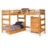 L Shape Loft Bed