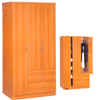 3 Door Wardrobe With Drawers 008 (ES)