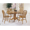 5-Piece Nostalgia Oak Finish Dinette Set 2185T (AFS150)