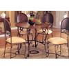 5 Pc Antique Bronze Dinette Set 120551/52 (CO)