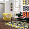 Ziggy Chevron Area Rugs 14999033(OFS100)