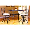 3-Piece Quartz Pub Table & Stools 2043/3043_ (ML)