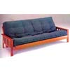 Oak Finish Mission Style Futon Bed 2442(A)