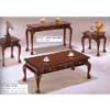 3-Pc Cherry Occasional Set w/Drawers 2821 (WD)
