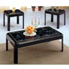 3-Pc Hi-Lacquer Finish Coffee And End Table Set 3129 (CO)