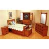 5-Piece Mission Style Oak Finish Bedroom Set 3791_ (CO)