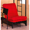 Tri-Fold Black Futon Chair 4029 (ML)