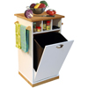Butcher Block Bin w/pantry 4121(VH)