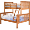 Twin/Full Mission Bunk Bed 42542_(PI)