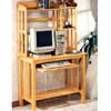 All Natural Computer Desk And Hutch 4274 (CO)