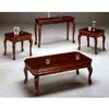 3-Pc Cherry Finish Coffee And End Table Set 4744 (CO)