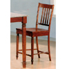 24��H Walnut Finish Bar Stool 5979 (CO)