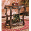 Console Table With Gold Accents 700014(CO)