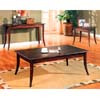 Walnut Finish Coffee Table 700088 (CO)