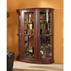 Curio Cabinet in Dark Walnut 950062(CO)