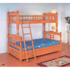 Twin/Full Bunk Bed With Drawers B009(PK)