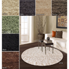 Alexa My Soft and Plush Multi Shag Round Rug 136596_(OFS107)