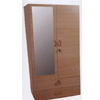 Wardrobe With Two Doors and Two Drawers W108LM(WPFS100)