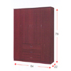Wardrobe With Mirror WD-466_(ALA)