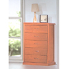 Solid Wood 5 Drawer Chest DC-806_(ALA)