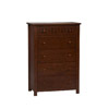 Mission Bay Chest W 5 Drawers 86020C125-AB-KD-U (LN)