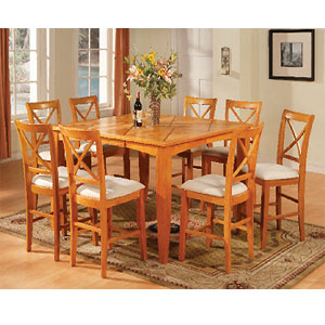 Gathering Counter Height Sets Maple Counter Height Dining Set 1247 T ST WD