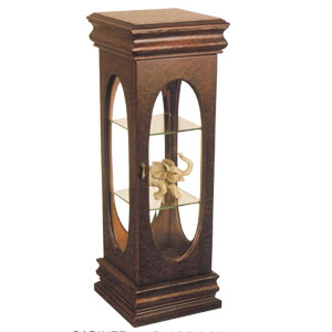 Curio Cabinet With Glass Door 1363 (ITM)