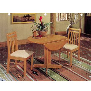 3-Pc Drop Leaf Table Set 298_(A)