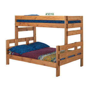 Twin Full Wooden Bunk Bed Twin Full Stackable Bunk Bed
