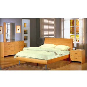 bedroom furniture 5 piece contemporary maple bedroom set 3995 co