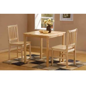 Honeymoon 3 Pc Table And Chair Set (PFS75)