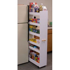 Roll Out Cabinet Drawers Thin Man Pantry Cabinet 4036 VHFS