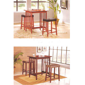 Solid Wood 3-Pcs Breakfast Set F5808(TMC)