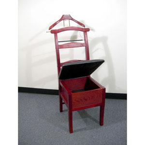 Manchester Chair Valet Cherry VL16143 (PM)