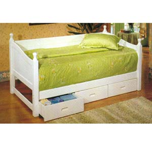 Day Bed With Drawers F9079 (PX)