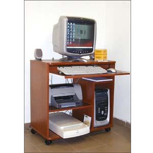 Custom Made Computer Cart's: Computer Desk On Wheels G 2 VF