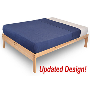 Nomad Platform Bed (Unfinished) 796-1-5(KDFS)