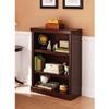 3-Shelf Bookcase Multiple Finishes 007137114(WFS65)