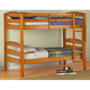 Solid Wood Twin Over Twin Wood Bunk Bed 0071136_(WFS195)