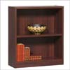 Mahogany Finish 2 Shelves Bookcase 100202 (AZ)