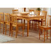 Solid Wood Counter Height Dining Table 100681 (CO)