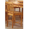 Dining Chair In Medium Brown Finish 100682 (CO)