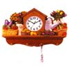 Wall Clock With Holder 1014 (PJ)