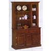 Dark Oak Buffet And Hutch 1261-47 (WD)