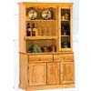 All Natural Buffet And Hutch 1263-47 (WD)