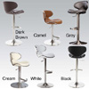 Ecco Adjustable Height Swivel Stool 13443543(OFS)