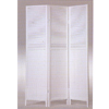 White Finish Wooden Screen 1423(ABC)