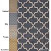 Handmade Alexa Moroccan Trellis Wool Rug 14283155(OFS166)