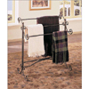 Garden District Metal Scroll Blanket/Towel Rack 158Z(PW)