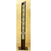 Black Metal Slim Design CD Rack 1649 (CO)
